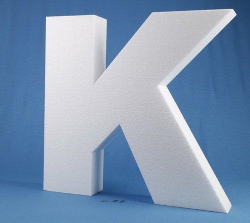 """Styropor Buchstaben """"K"""""""