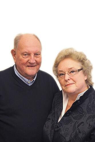 Firmengründer Günter Cordes und Ehefrau