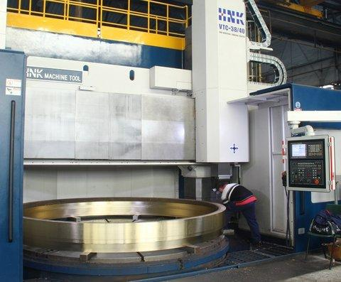 LBI can supply parts fully machined thanks to our 3-axes CNC vertical lathes up to dia. 4.000 mm.