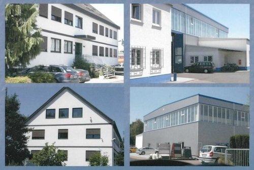 Produktionshalle und Bürogebäude