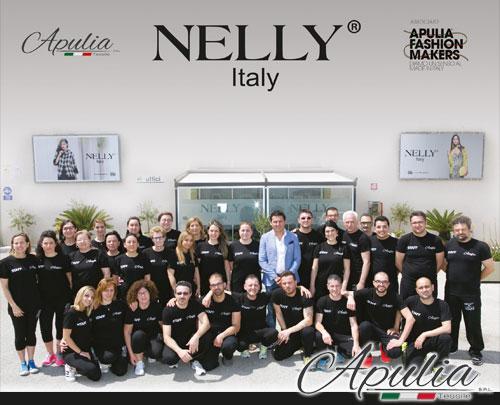 Produzione vendita maglieria donna brand Nelly Italy 100% made in italy collezioni autunno inverno e primavera estate