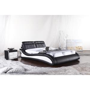 Lux Soft Bed with built-in bluetooth speakers, Iphone dock and USB