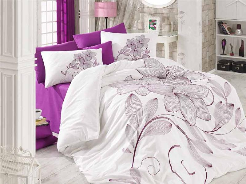 3D Bed Linen Set. Product made of 100% cotton. 4 pcs