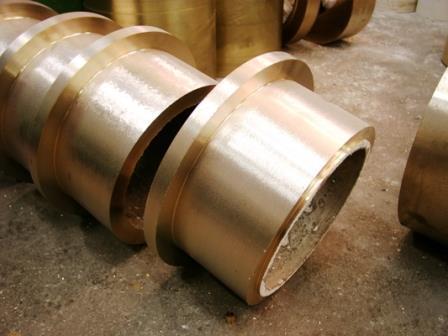 Bague en bronze centrifuge sur mesure