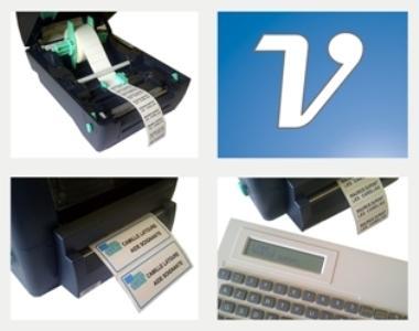 Imprimante étiquettes textile
