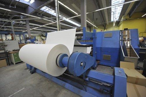 Produktion mit modernsten Anlagen