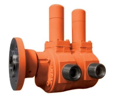 La linea VMD è un brevetto Gilardoni. Consta di due pompe VM accoppiate su un singolo motore con la possibilità di processare due diversi fluidi con riduzione di consumi ed ingombri.