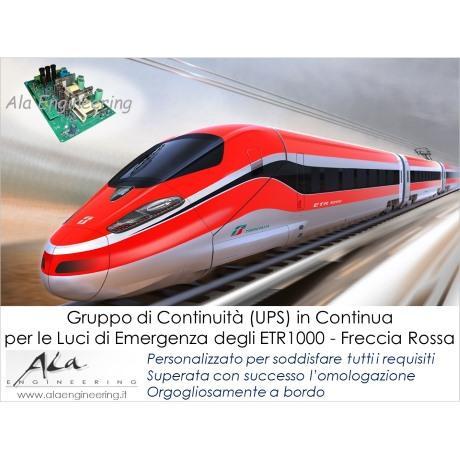 Alimentatore Ferroviario per ETR1000 Frecciarossa