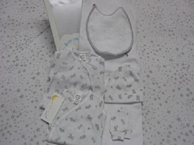 BABY SET 6 PIECES 100% COTTON MADE IN SPAIN