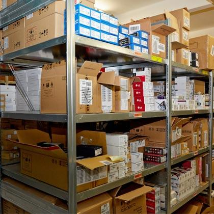 In order to meet our customers needs and to expand the range of stored goods, Point Logistics Company equipped the warehouse with the shelves and pushback racks.