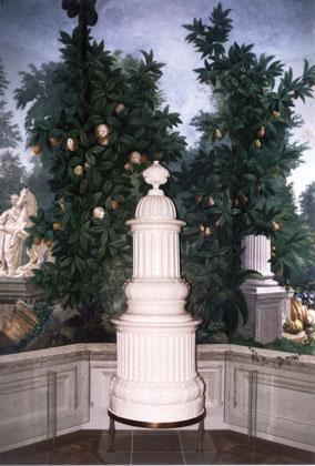 Direktheizung mit kurzer Ansprechzeit, bei fast jeder Kachelofenform realisierbar. Perfekte Beheizungslösung für Antiköfen: in Schloß Schönbrunn in Wien wurden alte Stilöfen mit dem TSE revitalisiert.