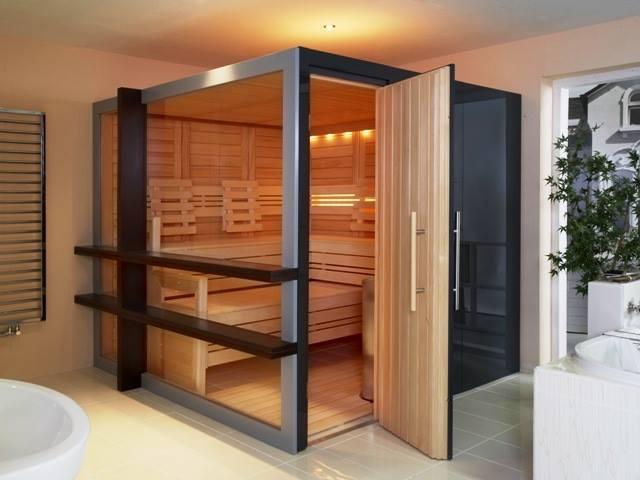 Cabine de sauna HELO Saunatec France
