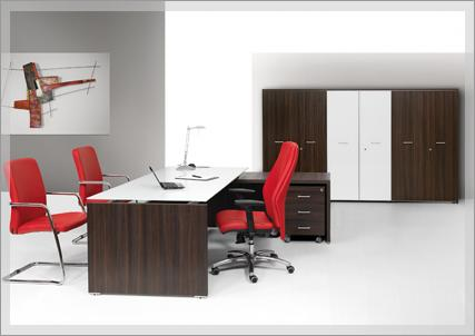 There is a vast selection of storage units, desks, drawers and panels which are all modular and can easily be combined to suit individual office.... http://www.fumu.it/executive-offices-beta-eco.html