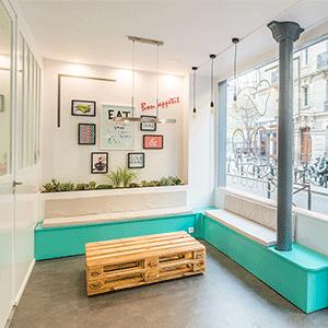 design d'espace, décoration d'intérieur, coordination de travaux de second oeuvre