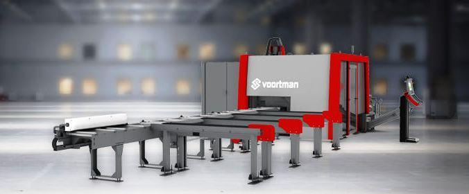 Voortman V550 Flat and angle punching and shearing