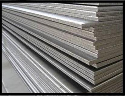 Steel plates.