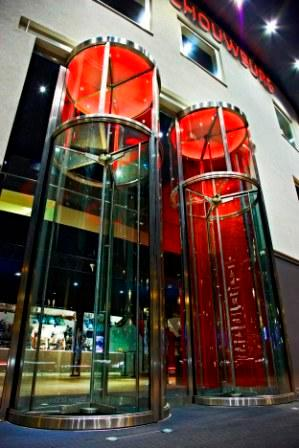 Circular Full Vision Tall revolving door