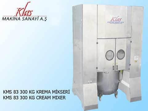 KMS83 200-300 KG PLANETARY MIXERS