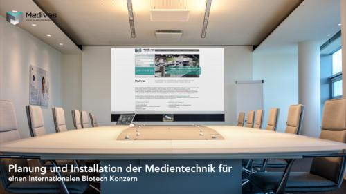 Medivas Integration im Konferenzraum