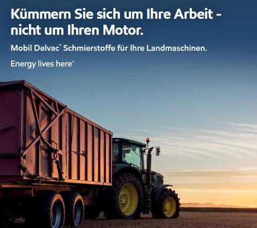 Schmierstoffe für Landmaschinen