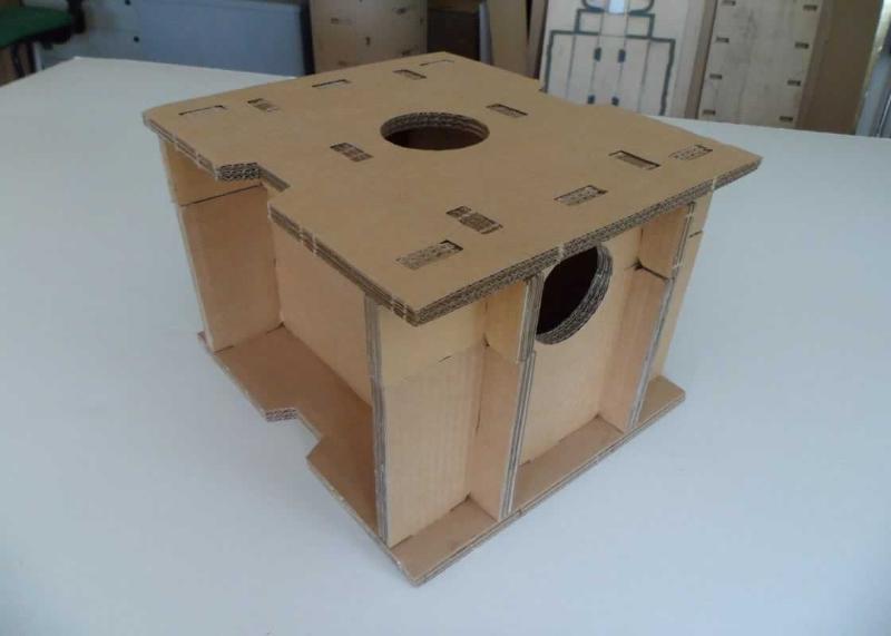 cardboard packaging interlocking completely biodegradable