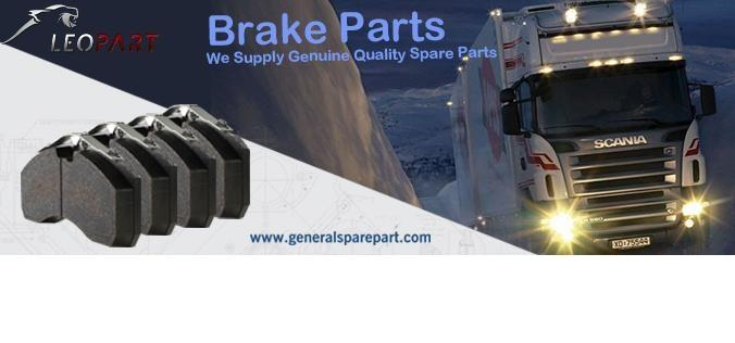 GENERALSPAREPART PRODUCES LEONPART BRAKE PADS FOR ALL TYPES OF TRUCKS AND TRAILERS