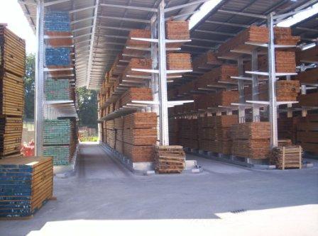 Ce système est destiné à la Grande distribution, l'Industrie, l'Artisanat, les Collectivités locales pour le stockage des produits longs, lourds et volumineux.