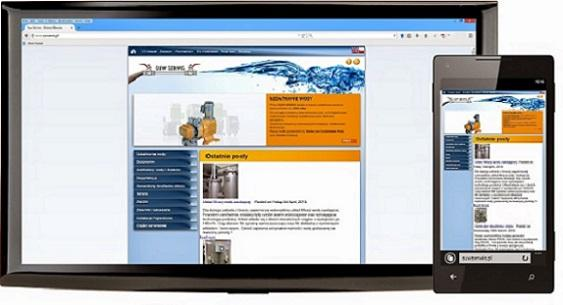 This is a website we realised for a Polish company specialising in water treatment and installation of water systems. The website is mobile responsive and includes a blog for SEO.
