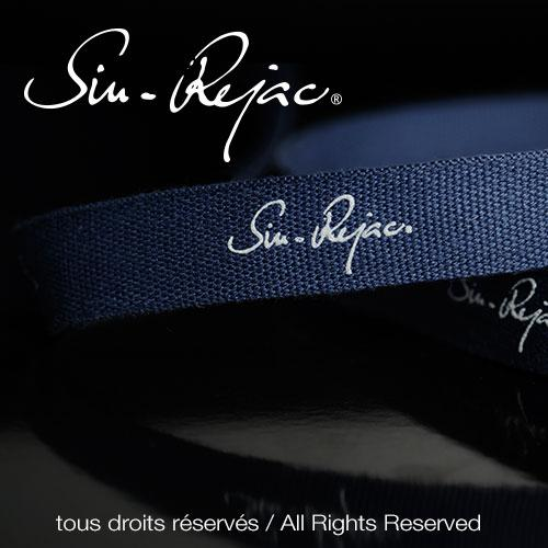 ruban 100 % coton, tissage aiguille, impression relief mat, disponible en 5, 8, 10, 12, 15, 20 et 25 mm de large.