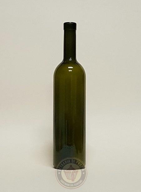 Bottiglie per vino di varie capacità, forme, colori e imboccature - www.bottigliedivetro.it - export@vetrariapescia.it