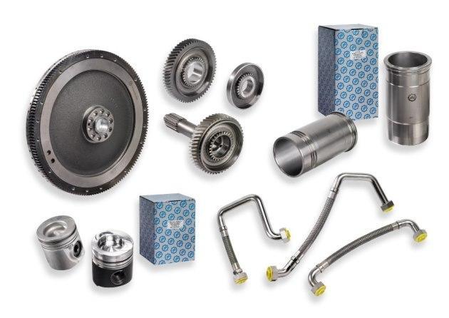 Pour boites de vitesses et moteurs ; volants moteurs, flexibles hydraulique AQP et PTFE, cylindrées, piston, chemise, synchronisation, ...