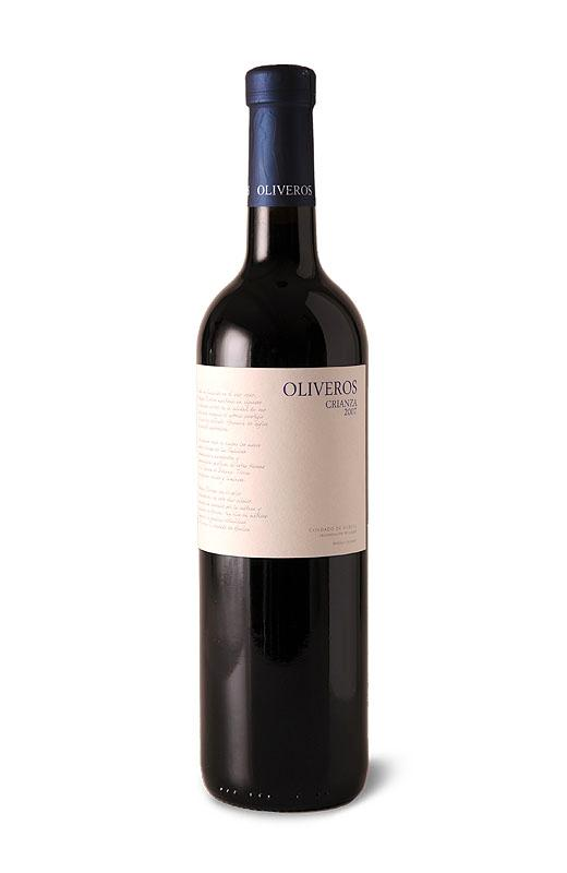 Crianza wine from Spain