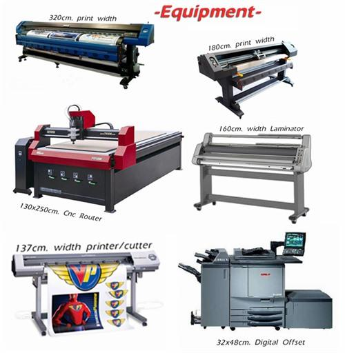 We have the ability to print over 3 meters width
