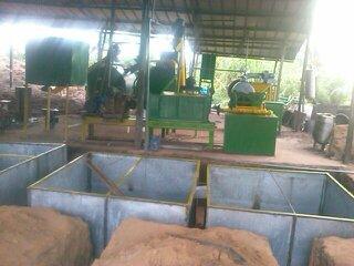 production d'huile brute de palme