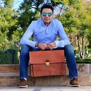 Leather Business Bag/ satchel