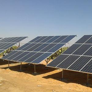 Date de projet : 10.09.2015  Technologies: Pompage solaire    Installation de pompage solaire : 18 KW    Lieux:  Makarem – Sidi Bouzid