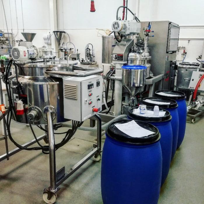 Tecnocosmética Production Lab