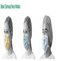 50 Pcs Disposable 3 Ply Earloop Face Masks