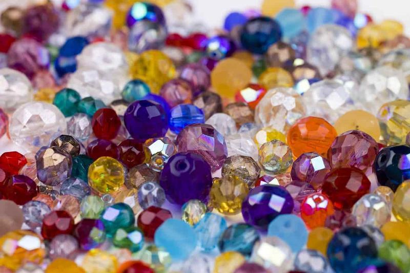 Perle semicristallo