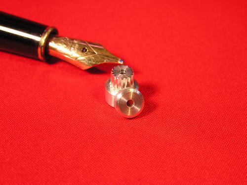 Miniaturriemenscheibe