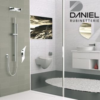 Composizione doccia / Shower setting. Diva Collection by Daniel Rubinetterie