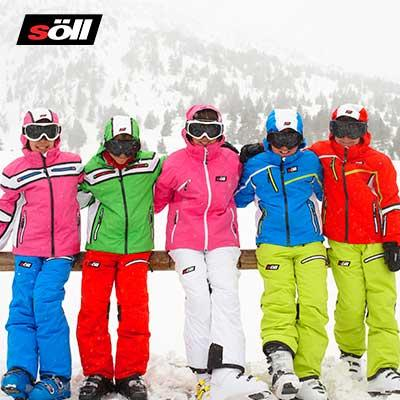 Happy color ski wear, Söll ropa técnica de esquí para niños, tienda online y en las tiendas especializadas.