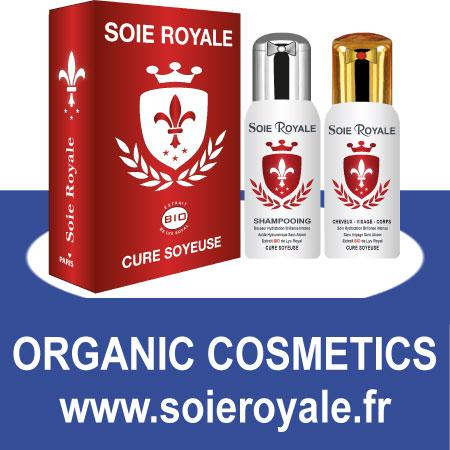 ►Kit Soie Royale BIO Cure Soyeuse pour les cheveux & Corps Shampooing + Sérum