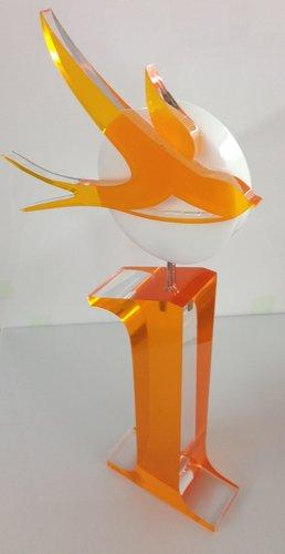 Award aus Acrylglas, Konturgelasert