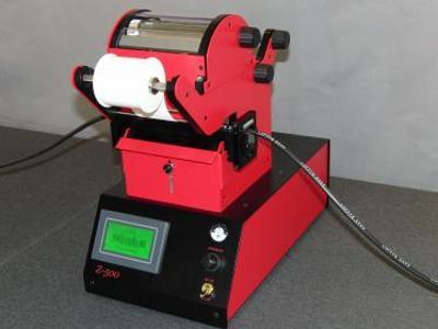 Beschriftungsgerät Z-500 ist ein elektropneumatisches Heissprägegerät