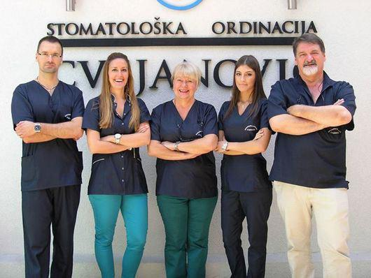 Cvejanović Clinic is one of the oldest private practices in Serbia, with a tradition lasting over 30 years. Our expert team is in the photo.