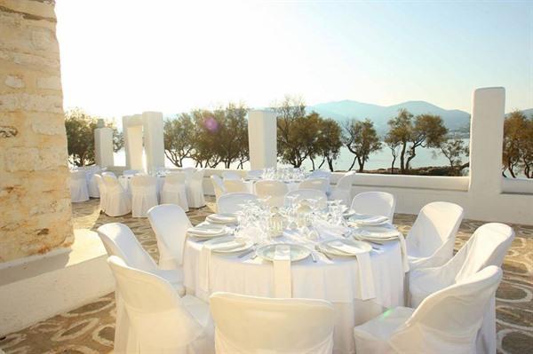 Picturesque Wedding in Paros