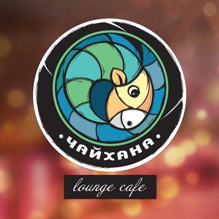 Lounge cafe logo design