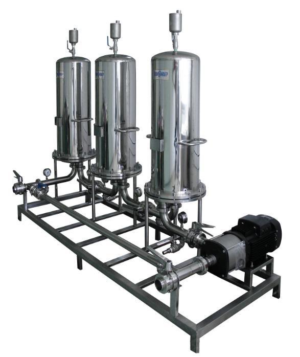 Sorption filtration