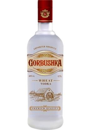 "Special Vodka ""GORBUSHKA Wheat"" is an all-natural product."